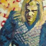 Marcelo. Óleo s/ madera. 50 x 70 cm. 1982. Colección privada.