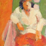Wendy. Óleo s/ madera. 50 x 70 cm. 1982. Colección privada.