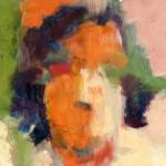 Wendy / Detalle. Óleo s/ madera. 50 x 70 cm. 1982. Colección privada.