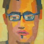 Juanma. Óleo sobre tela. 50 x 70 cm. 2008.