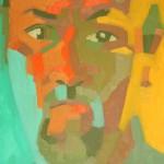 Autorretrato. Óleo sobre tela. 50 x 70 cm. 2004.