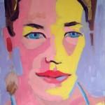 Mariana. Óleo sobre tela. 50 x 70 cm. 2002.