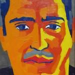 Marcelo. Óleo sobre tela. 50 x 70 cm. 2007.