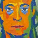 Jorge. Óleo sobre tela. 50 x 70 cm. 2010.