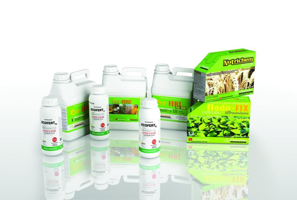 Línea de Productos Orgánicos Chemtec