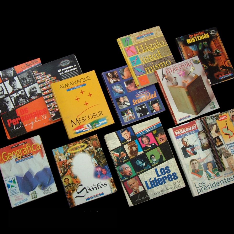Enciclopedias coleccionables